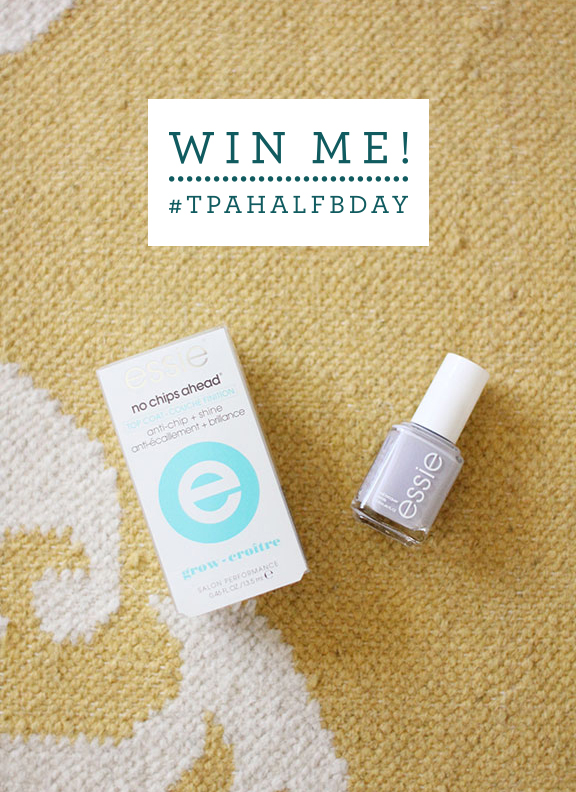 Win me! Essie polish and top coat from That's Pretty Ace