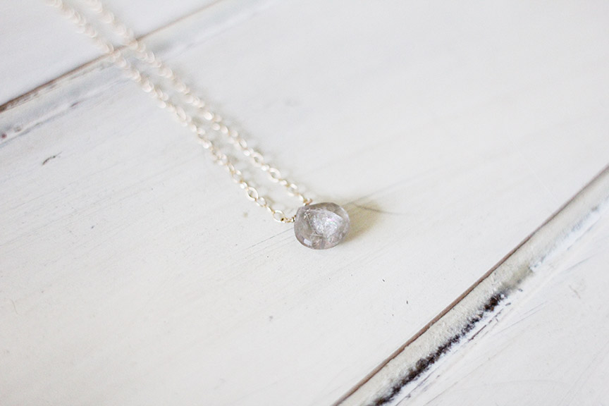Win this! Quartz necklace by Carrie Foster from That's Pretty Ace
