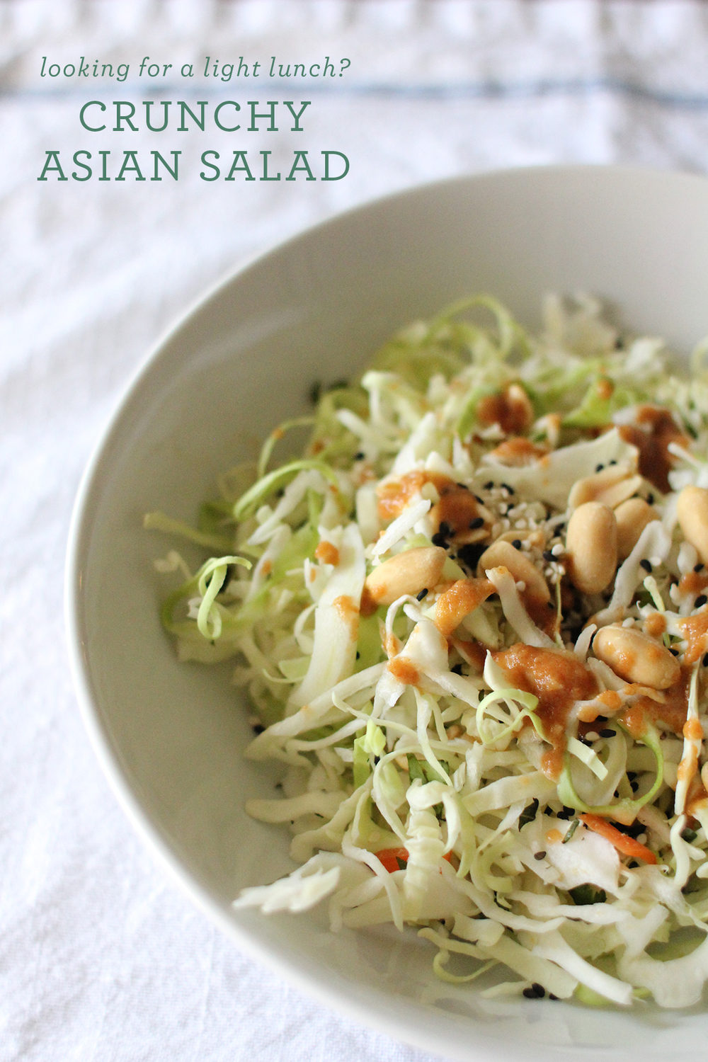 Crunchy Asian Salad | That's Pretty Ace