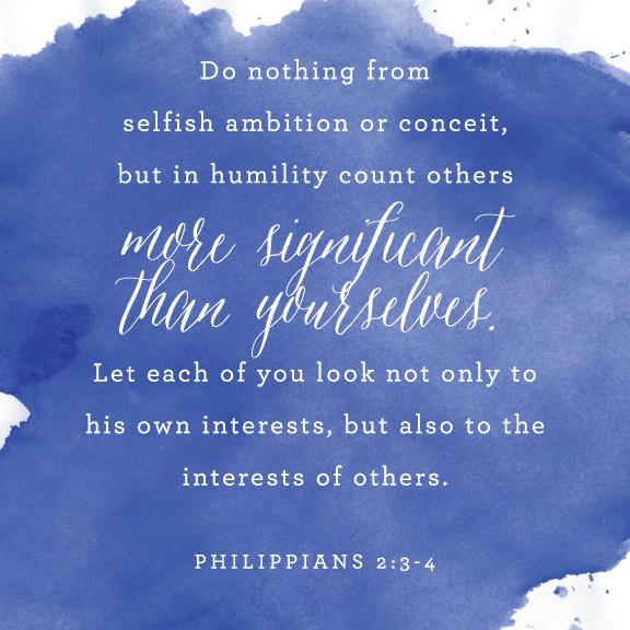 Philippians 2:3-4 | That's Pretty Ace