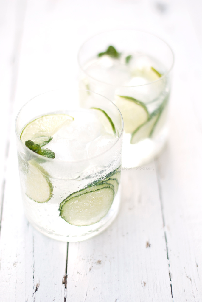 Cucumber & Mint Gin & Tonic | That's Pretty Ace