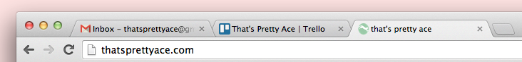 Favicons | That's Pretty Ace