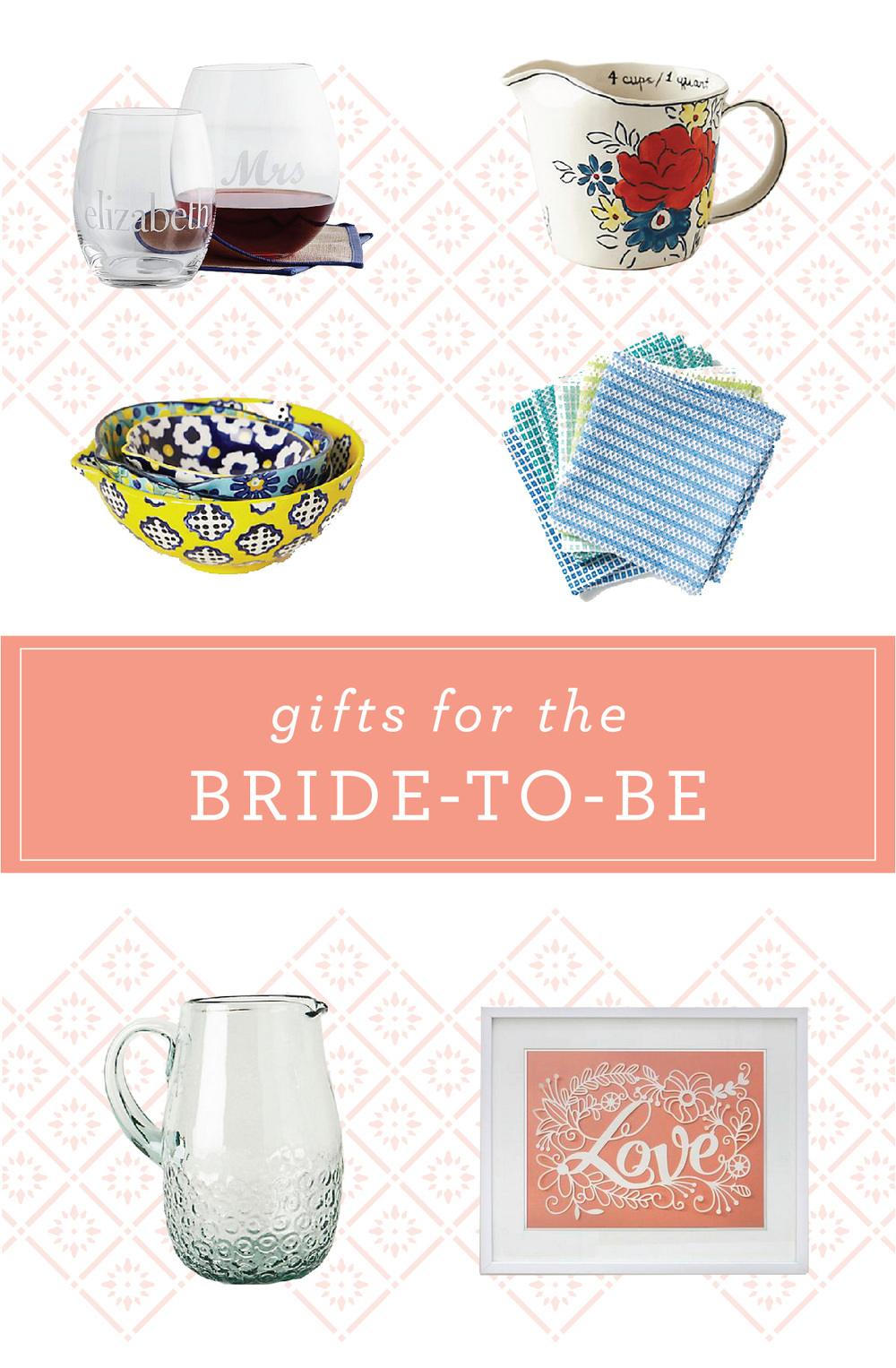 Gifts for the Bride-to-Be | That's Pretty Ace