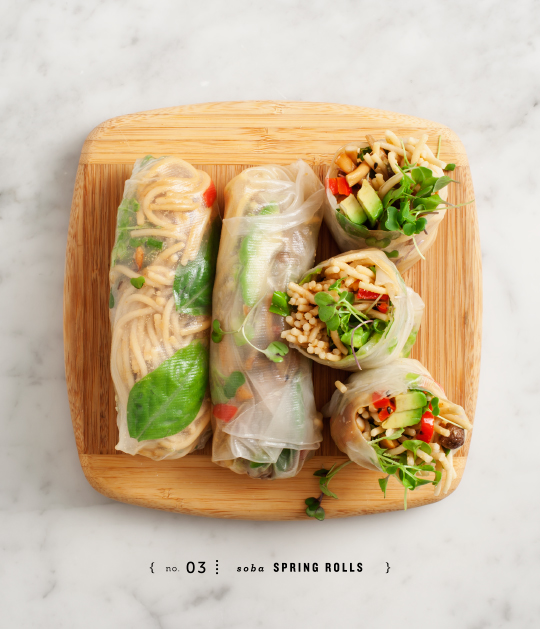 Peanut Soba Spring Rolls by Love & Lemons | That's Pretty Ace