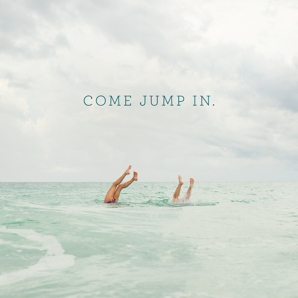 Come jump in. | That's Pretty Ace