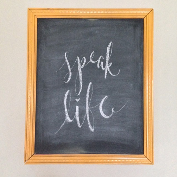 Speak Life | That's Pretty Ace