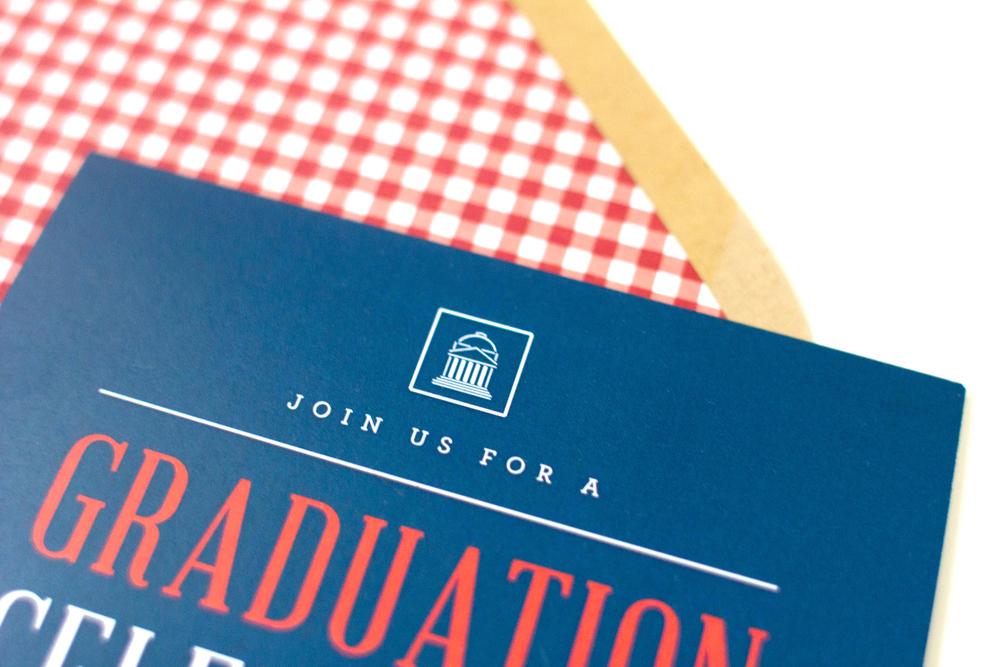 Custom Design Chriss Graduation Party Invitations thats