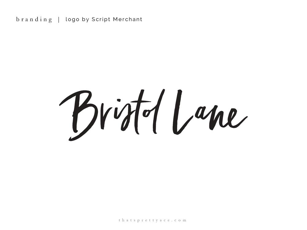 Bristol Lane - Logo by Script Merchant
