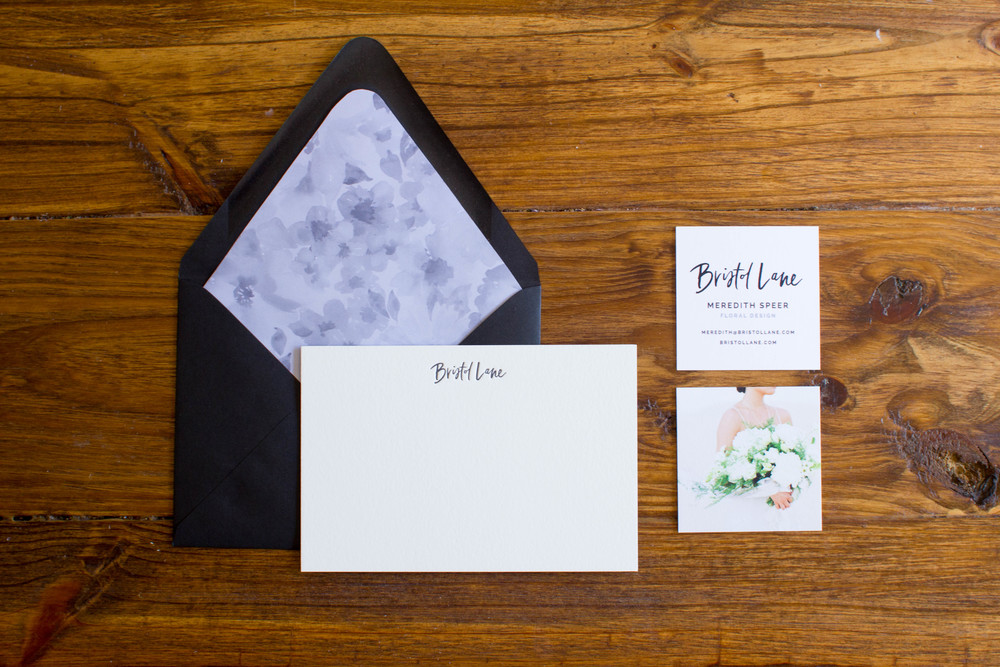 Bristol Lane - Notecards, Envelopes, and Business Cards