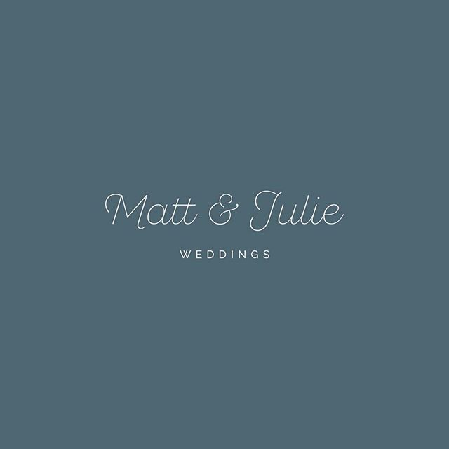 @mattandjulieweddings are [the most adorable] wedding photography couple based in Dallas, TX. Love them. Love who they are. Loved creating their brand. #tpabrand #thatsprettyace