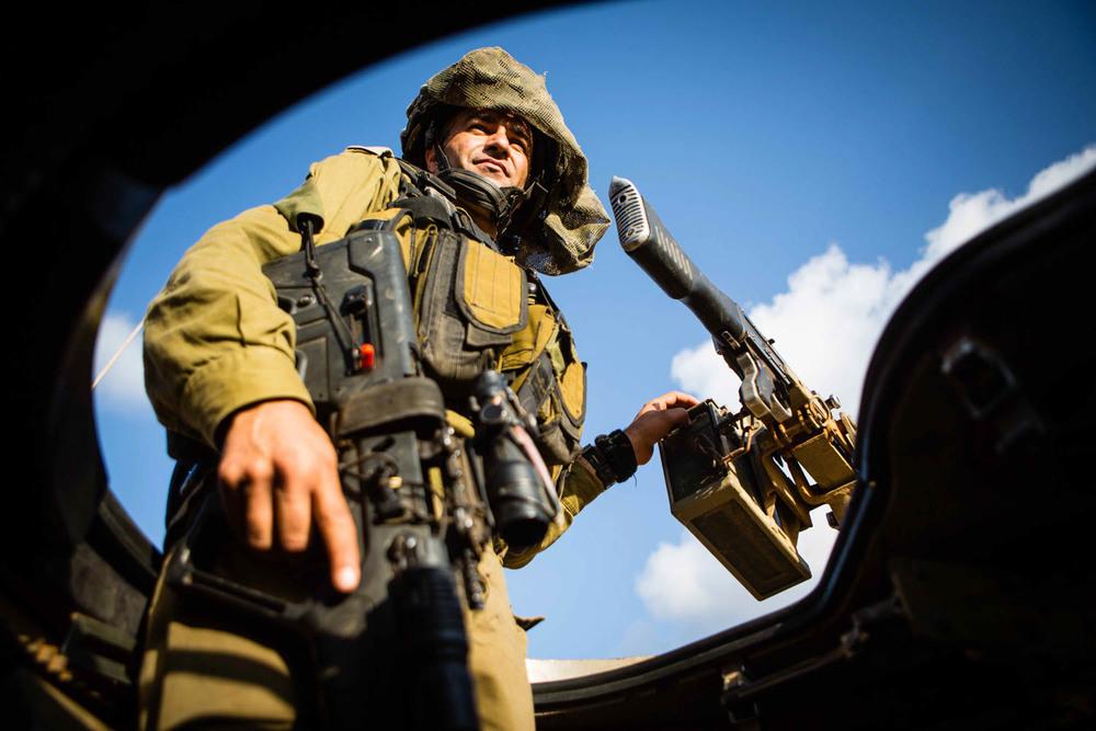 Guarding Lebanon Border