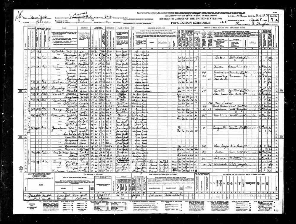 1940 US Federal Census