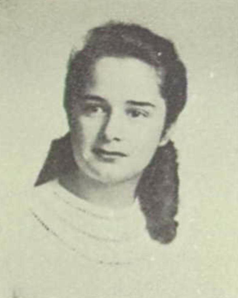 Betty Bosswick in 1948