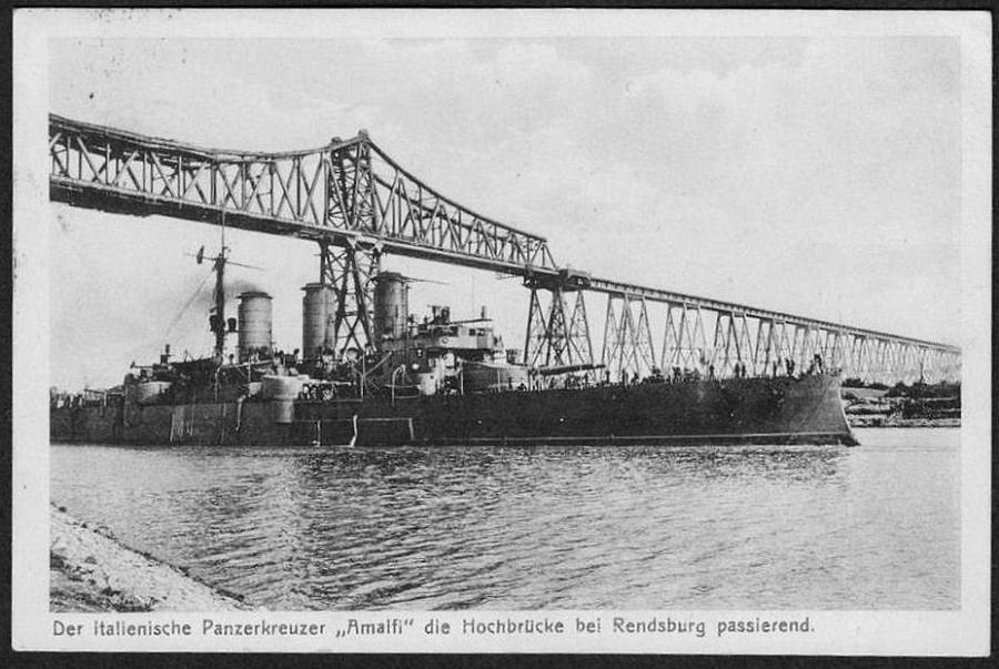 S.S. Amalfi of the Hamburg-America Line