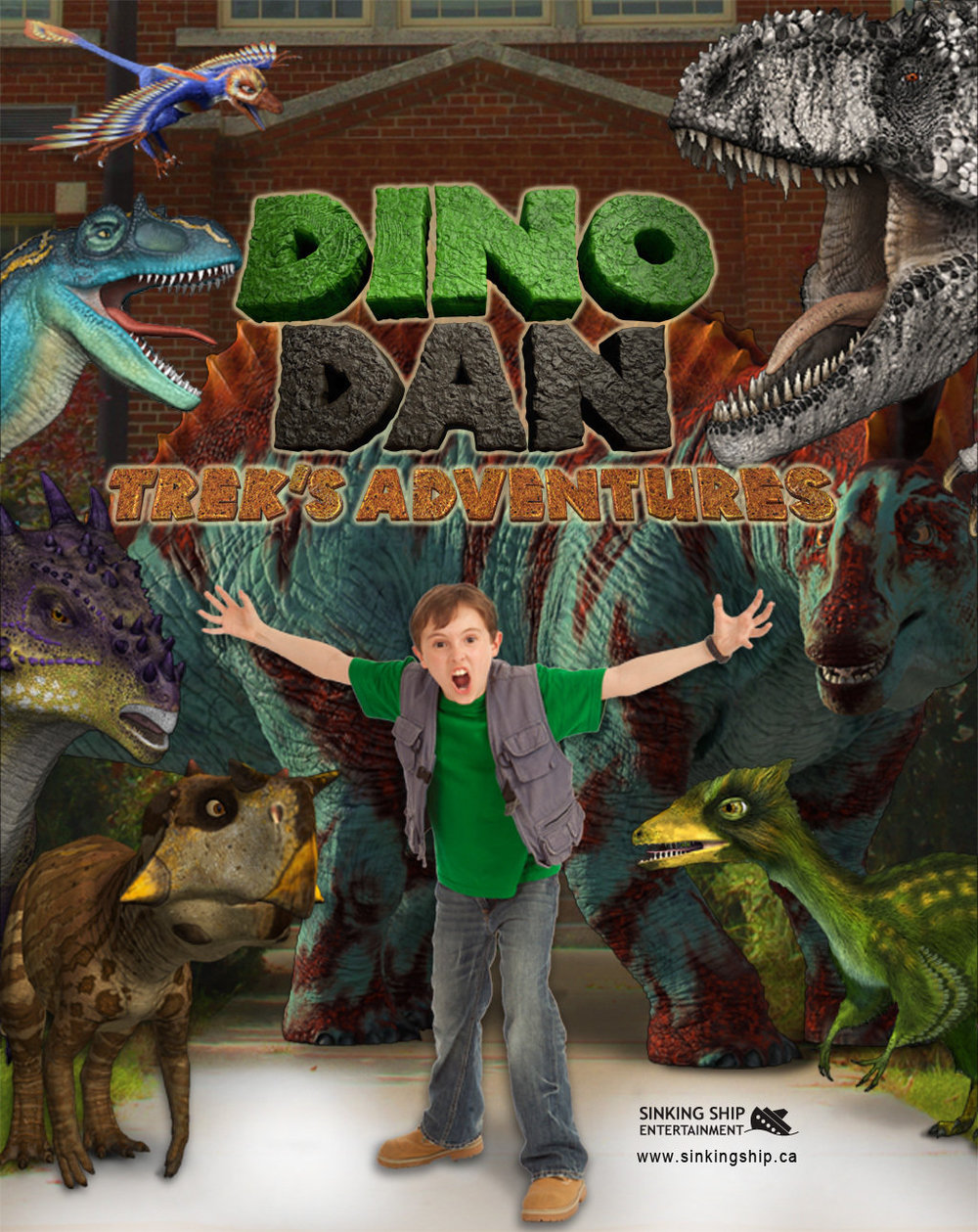 Dino Dan Trek's Adventure