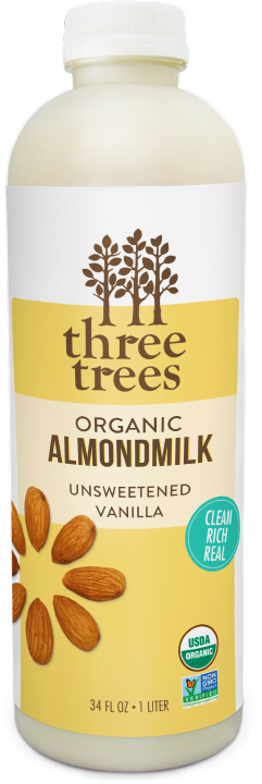 Three Trees - Unsweetened Vanilla Almondmilk