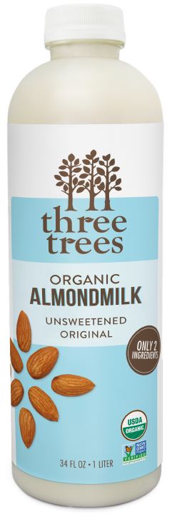 Three Trees - Unsweetened Original Almondmilk