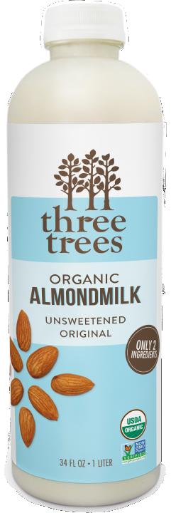 Three Trees - Unsweetened Original Almondmilk