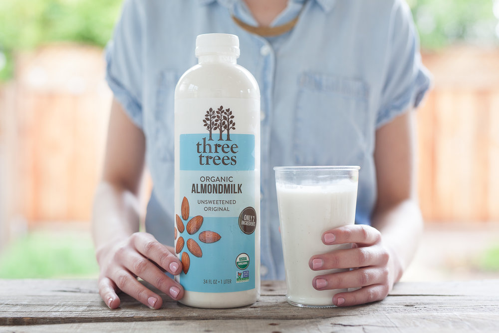 Three Trees Organic Original Unsweetened almondmilk