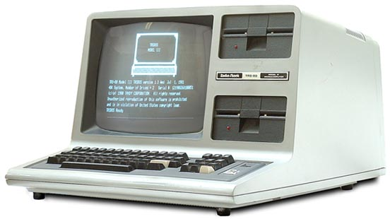 My first computer - TRS-80 Model III