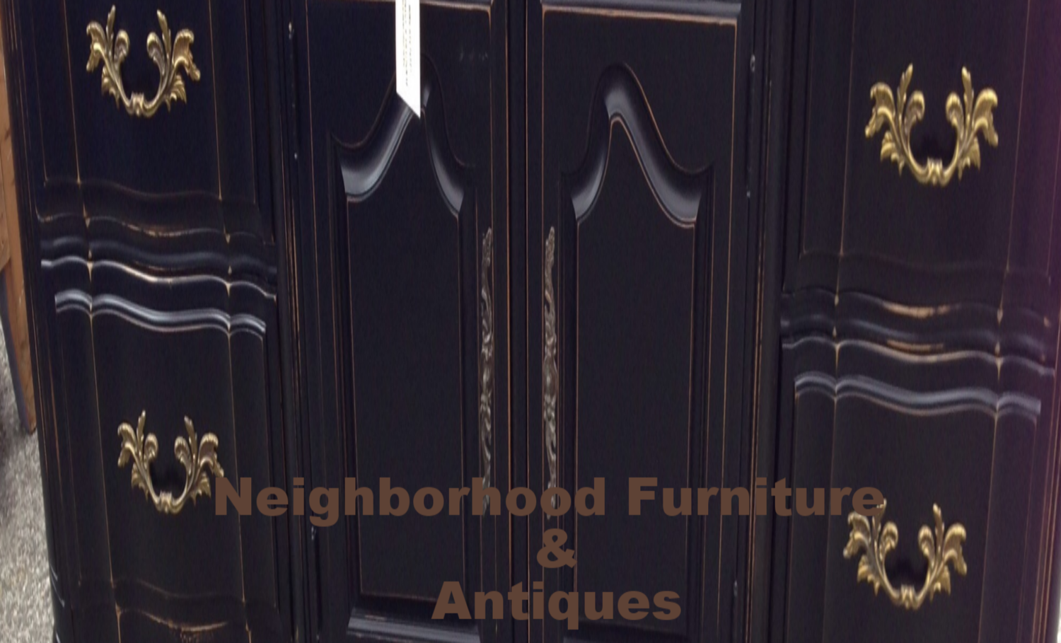 Neighborhood Furniture & Antiques