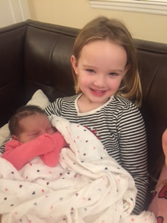 - Please welcome Alex's new sister  Indigo to our community.  Congratulations to Lisa and Ken on the birth of their daughter.  We look forward to Indigo joining our toddler classroom.