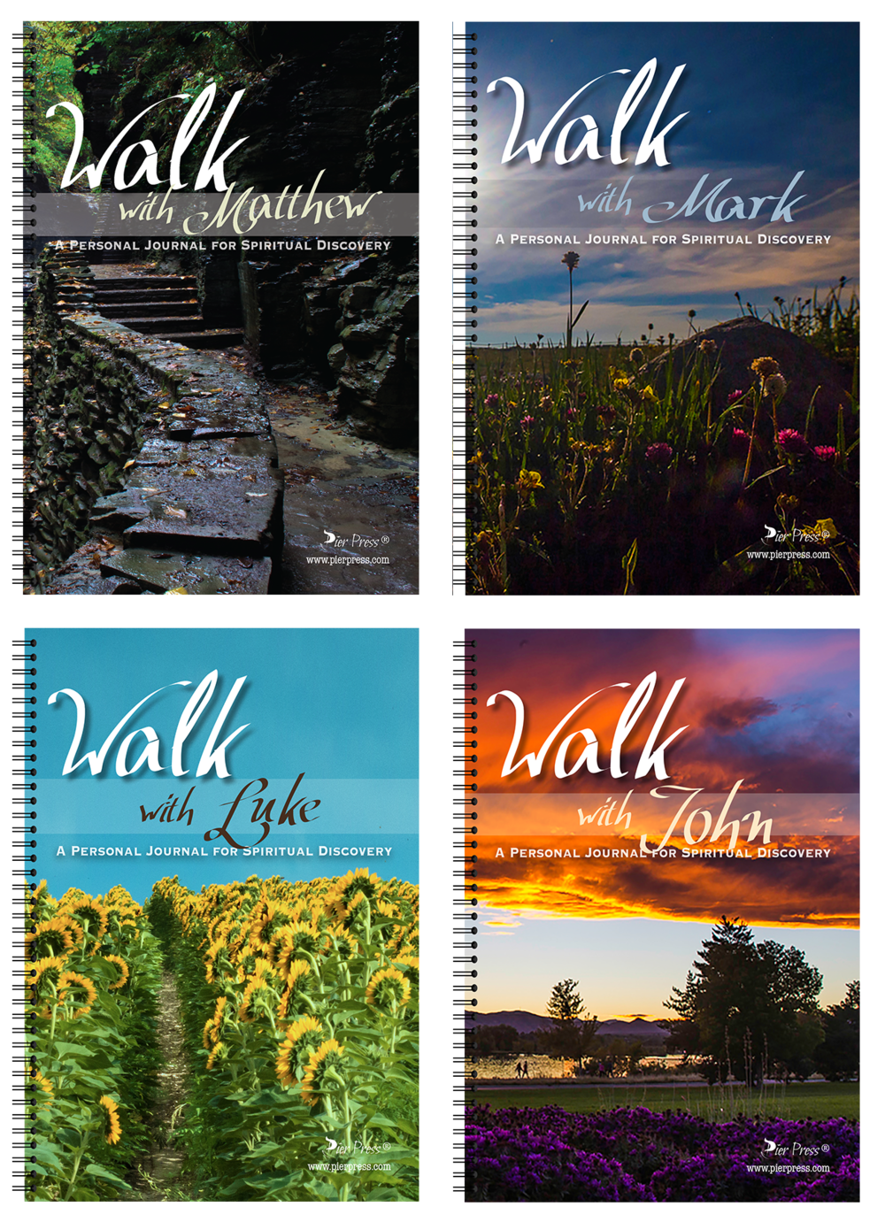 Walk with the Gospel Writers : Personal Journals for Spiritual Discovery