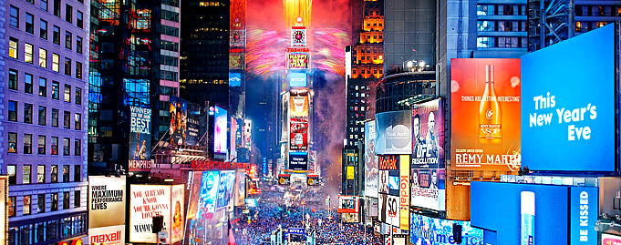 The ultimate New Year's Eve celebration in  Times Square
