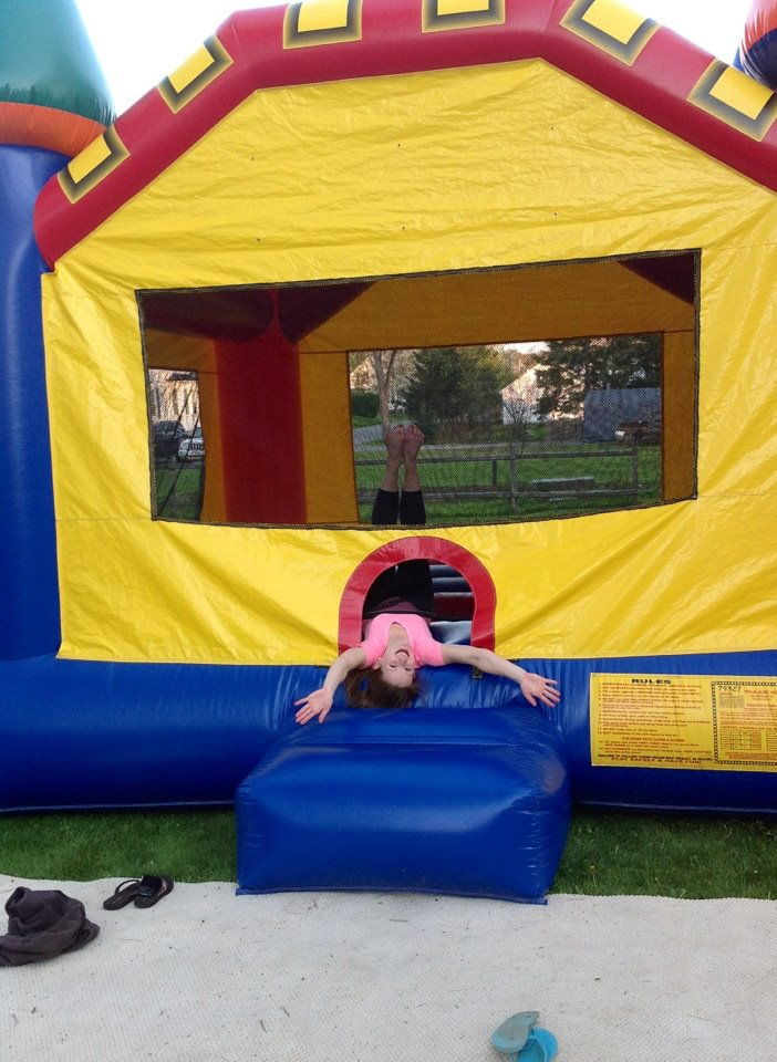 I rented myself a bounce house for my graduation party. It was not cheap, but man, it was fun.