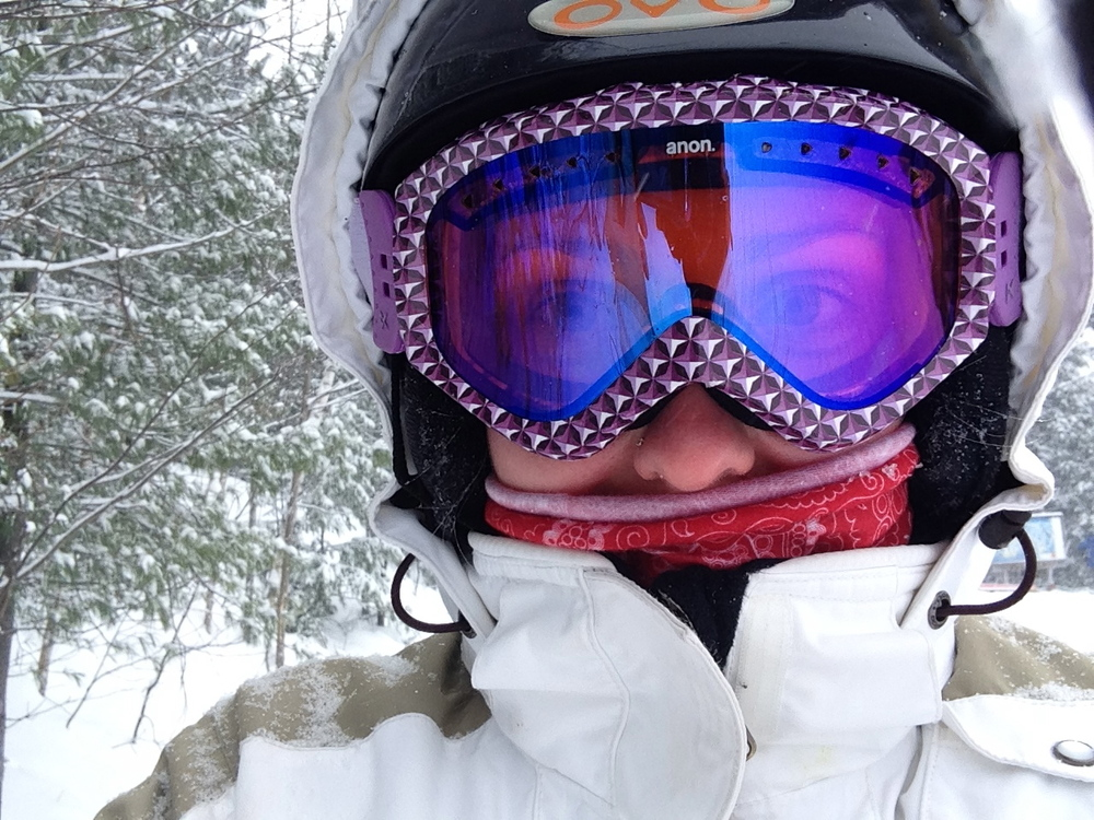 It's me on the slopes!