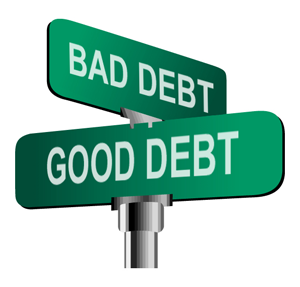 Money Monday Good Debt Vs Bad Debt Young Amp Free Maine