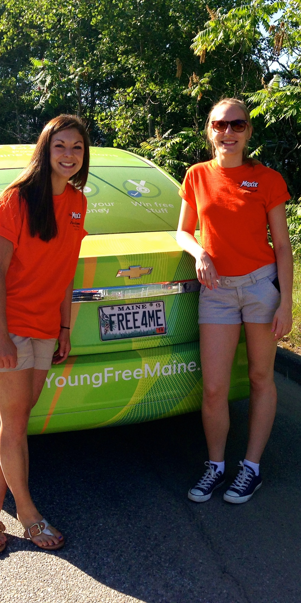 Living Young & Free, with Lisbon Community FCU in Lisbon at the Moxie Fest Parade!