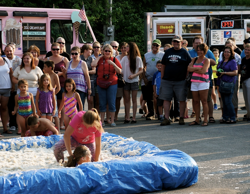 Mashed potato wrestling is a serious Maine sport!