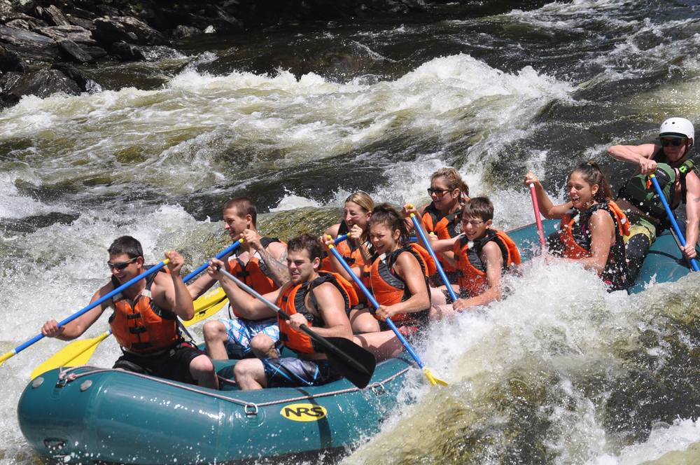 Kennebec River, Three Rivers White Water Rafting, 2014