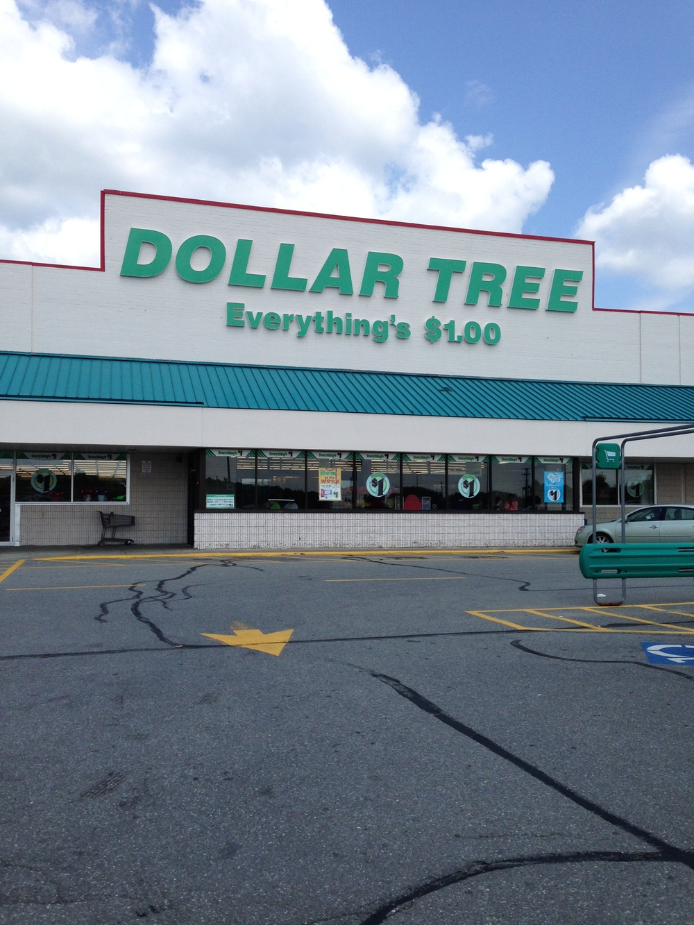 The Dollar Tree, 2014. Shop here for $1 products. Duh.