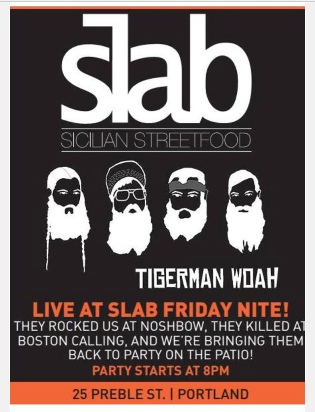Music at the Slab on 25 Prebble Street, August 8, 2014.