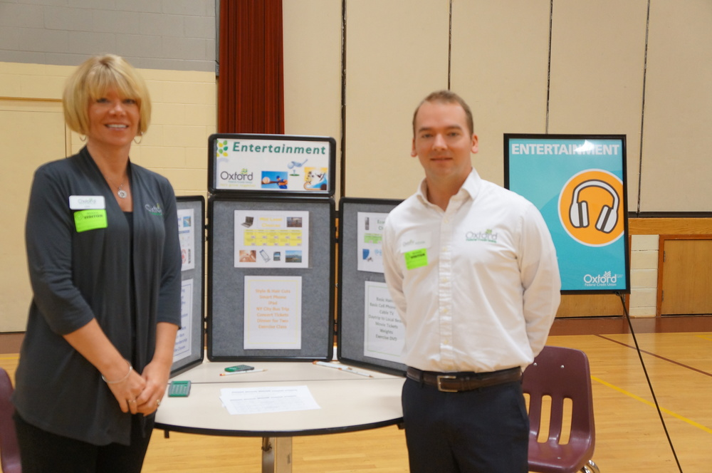 Oxford Federal Credit Union Staff at Financial Fitness Fair, 2014.