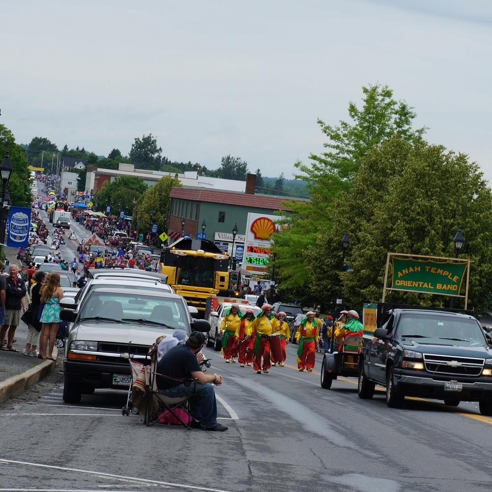 Parade, Potato Blossom Festival 2015