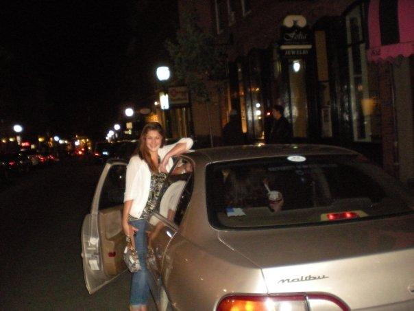My first car, a 2002 Chevy Malibu.