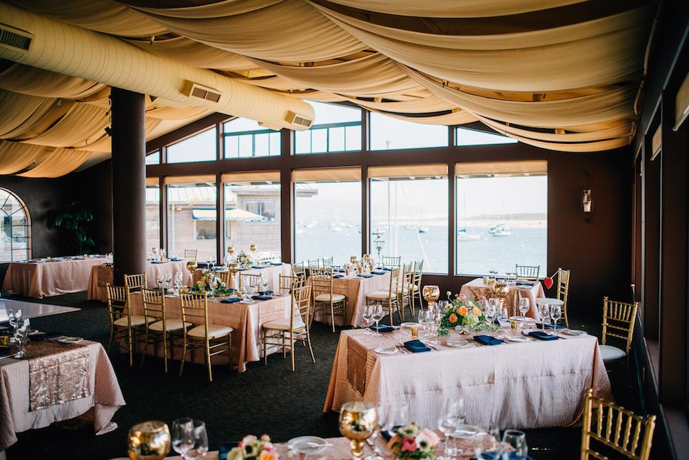 Bay Room set for reception. Photo by Ken Kienow -www.kenkienow.com