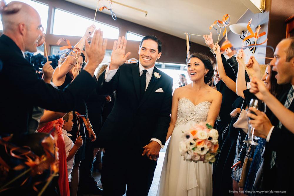 Ceremony and reception at Windows. Photo by Ken Kienow - www.kenkienow.com