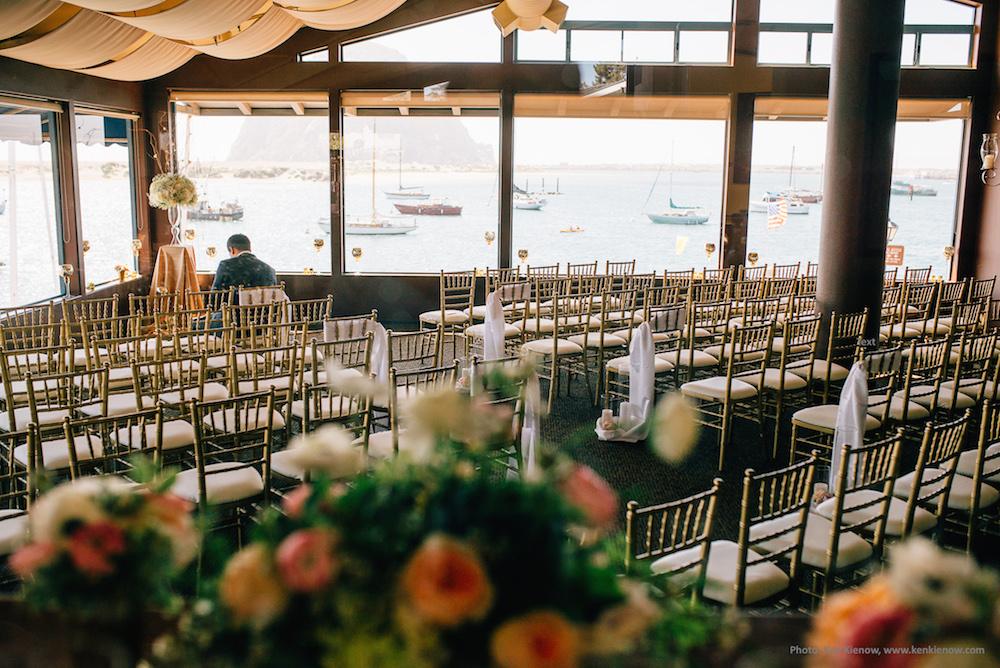 Vineyard Room set for wedding ceremony. Photo by Ken Kienow - www.kenkienow.com