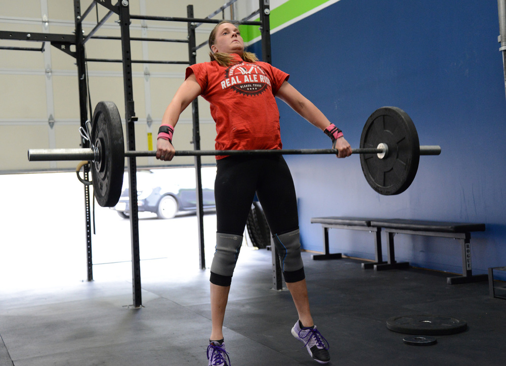 We found out who was really committed to their Snatch yesterday, solid work!