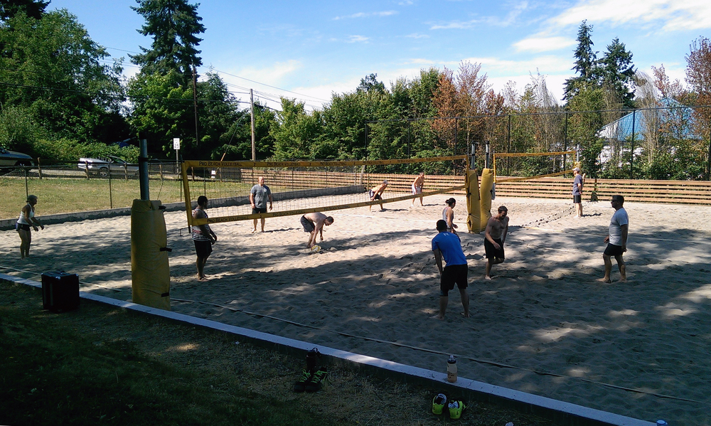Volleyball was tons of fun on Saturday, thanks to everyone who came out! We'll definitely get another day set up to get out there.
