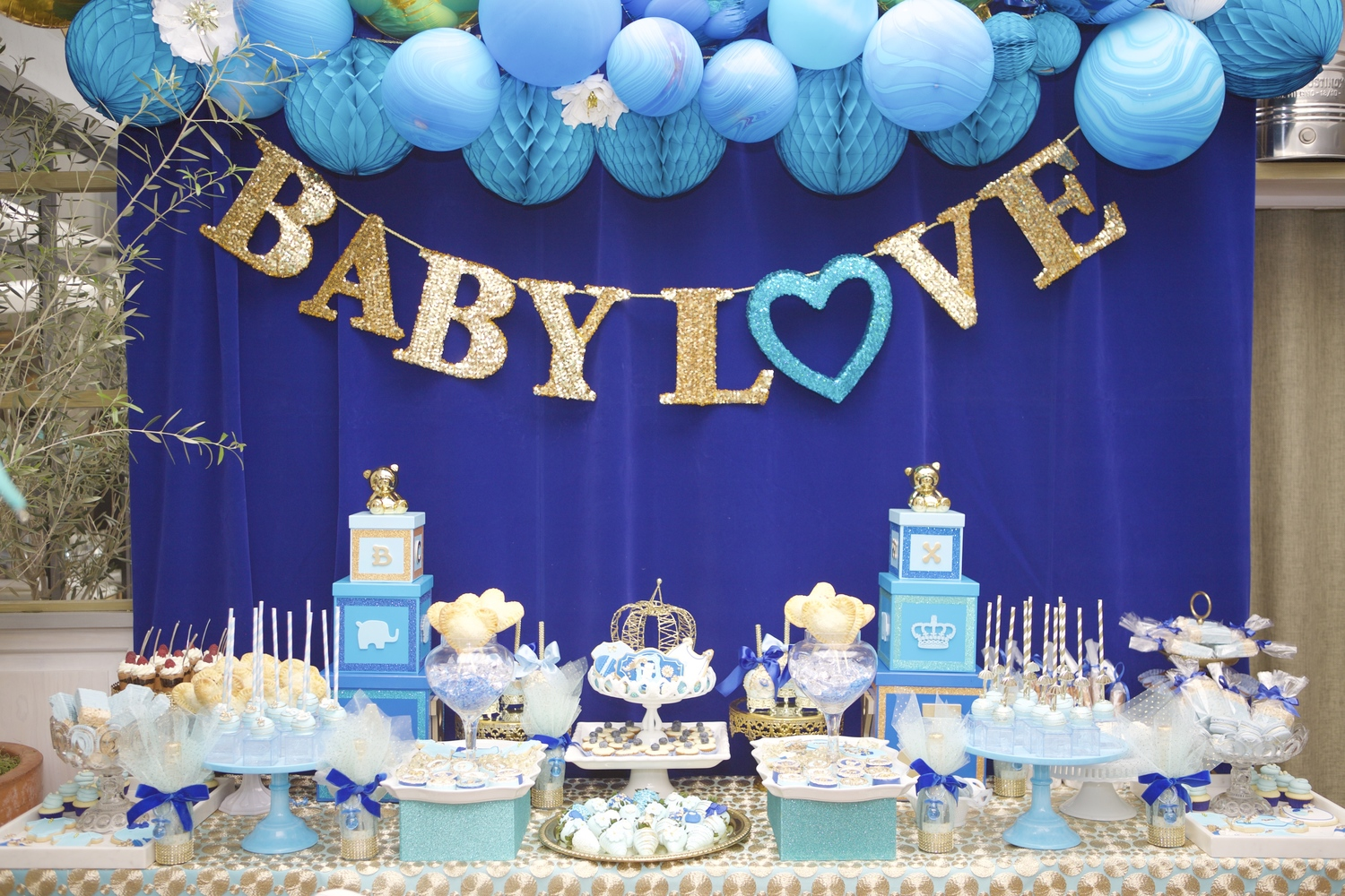 Royal Baby Shower — Lovelyfest Event Design