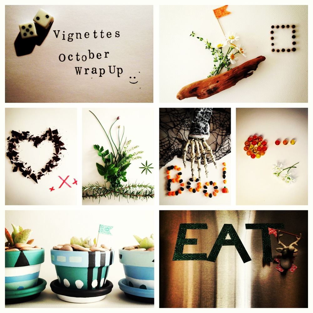 7 Vignettes October - #painted #fridge #love #coordinating #outdoor #classic #halloween