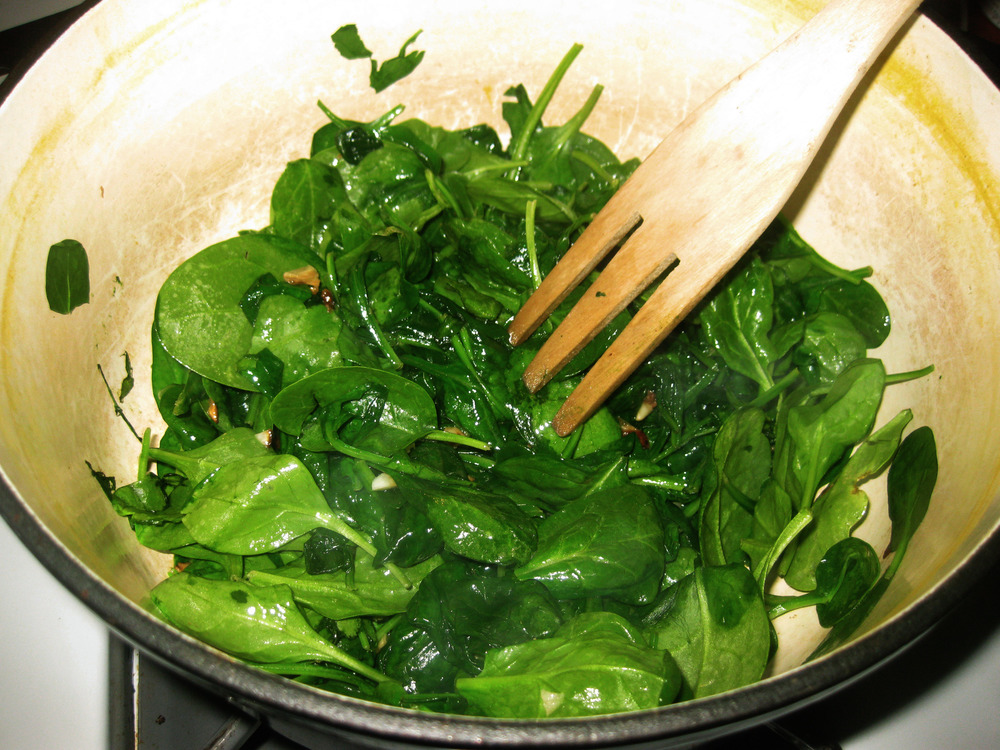 Simple Sauteed Greens
