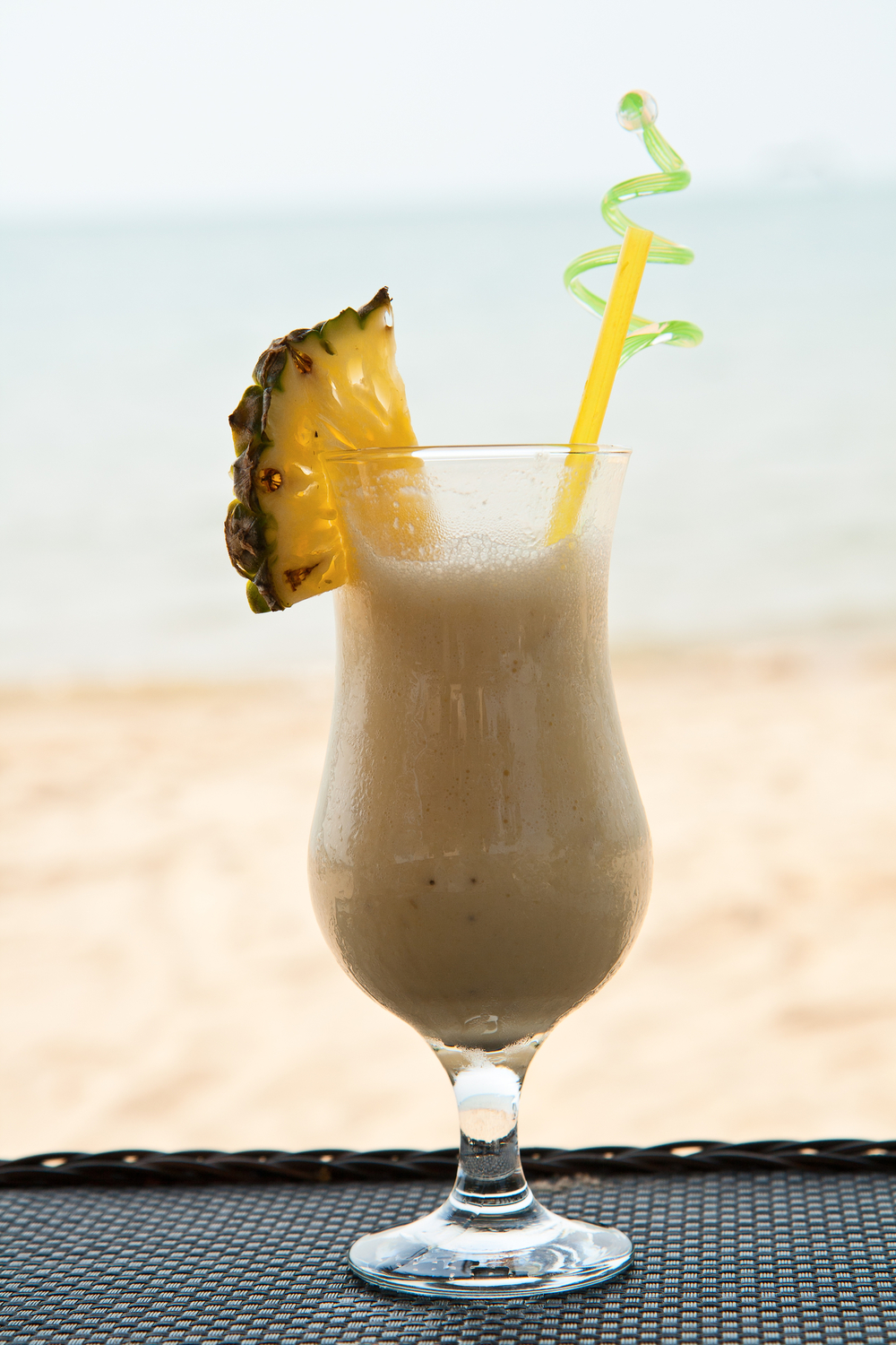 Healthy Tropical Protein Shake