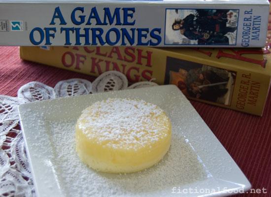 Sansa goes gluten-free. GASP!