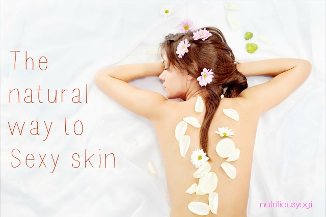 I have found some really easy, natural ways to care for your skin. Most come from the inside.